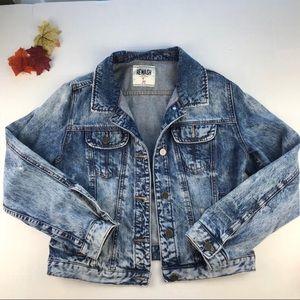 American Rewash Jacket (Acid awash) Large J (S)